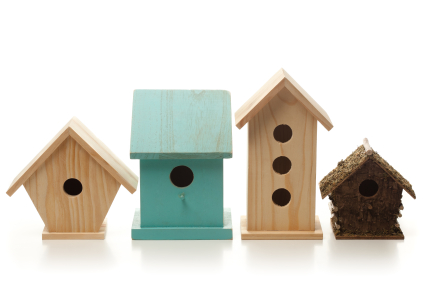 Stem birdhouse for Types of birdhouses for birds